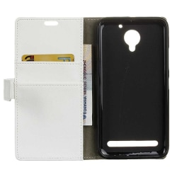 Mobilplånbok 2-kort Lenovo Vibe C2 Vit