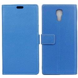Mobilplånbok 2-kort LG X Screen (K500N) Blå