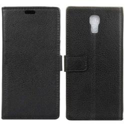 Mobilplånbok 2-kort LG X Screen (K500N) Svart