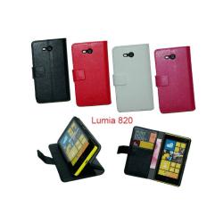 Mobilplånbok 2-kort Nokia Lumia 820 (RM-825) Svart