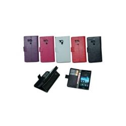 Mobilplånbok 2-kort Sony Xperia Acro S (LT26w) Rosa