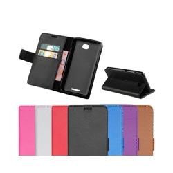 Mobilplånbok 2-kort Sony Xperia E4 (E2105) Svart