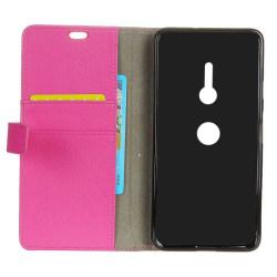 Mobilplånbok 2-kort Sony Xperia XZ2 (H8266) Rosa
