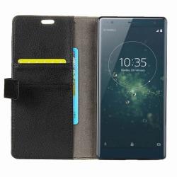 Mobilplånbok 2-kort Sony Xperia XZ2 (H8266) Svart