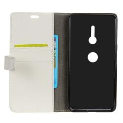 Mobilplånbok 2-kort Sony Xperia XZ2 (H8266) Vit