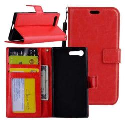 Mobilplånbok 3-kort Sony Xperia XZ Premium (G8141) Röd