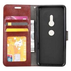 Mobilplånbok 3-kort Sony Xperia XZ2 (H8266) Brun