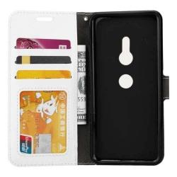 Mobilplånbok 3-kort Sony Xperia XZ2 (H8266) Vit