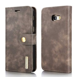 Mobilplånbok DG-Ming 2i1 Samsung Galaxy J4 Plus (SM-J415F) Grå