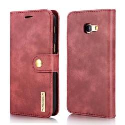 Mobilplånbok DG-Ming 2i1 Samsung Galaxy J4 Plus (SM-J415F) Röd