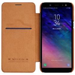Nillkin Qin FlipCover Samsung Galaxy A6 Plus 2018 (SM-A610F) Brun