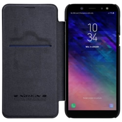 Nillkin Qin FlipCover Samsung Galaxy A6 Plus 2018 (SM-A610F) Svart