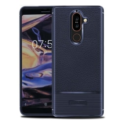 Rugged Armor TPU skal Nokia 7 Plus (TA-1046) Blå