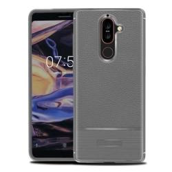 Rugged Armor TPU skal Nokia 7 Plus (TA-1046) Grå
