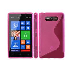 S Line silikon skal Nokia Lumia 820 (RM-825) Rosa