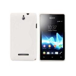 S Line silikon skal Sony Xperia E (c1505) Vit