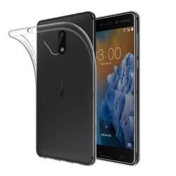 Silikon skal transparent Nokia 3 (TA-1032)