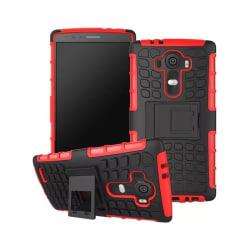 Stöttåligt skal med ställ LG G4 Röd