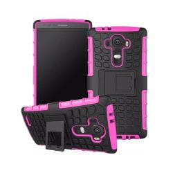 Stöttåligt skal med ställ LG G4 Rosa