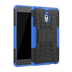Stöttåligt skal med ställ Nokia 2.1 2018 (TA-1080) Blå