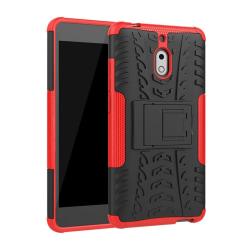 Stöttåligt skal med ställ Nokia 2.1 2018 (TA-1080) Röd
