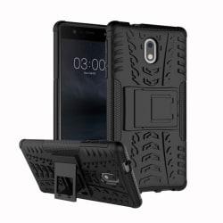 Stöttåligt skal med ställ Nokia 3 (TA-1032) Svart