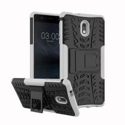 Stöttåligt skal med ställ Nokia 3 (TA-1032) Vit