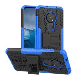 Stöttåligt skal med ställ Nokia 6.2 (TA-1198) Blå