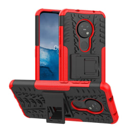 Stöttåligt skal med ställ Nokia 6.2 (TA-1198) Röd