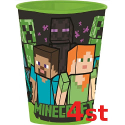 4 -pack Minecraft Mugg Steve och Alex
