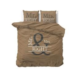 Bäddset - Påslakan Mr/Mrs Right Mr/Mrs Right