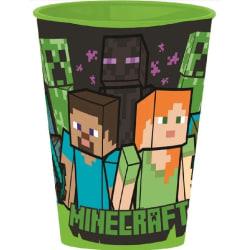 Minecraft Mugg Steve och Alex Grön