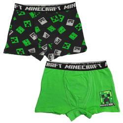 Minecraft Kalsonger 2-pack Green 152