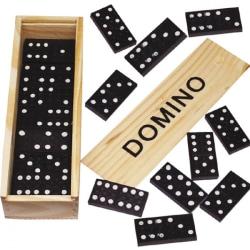 Dominoset / Dominobrickor - Domino Spel Beige
