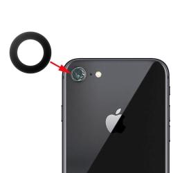 2-Pack - iPhone 8 - Kameralins / Skydd - Reservdel