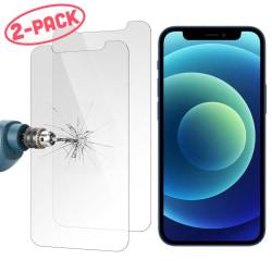 2-Pack Skärmskydd - iPhone 12 Pro Max - Härdat Glas