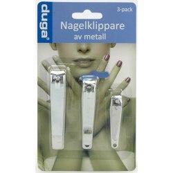 3-Pack Nagelklippare / Nagelsax - Naglar