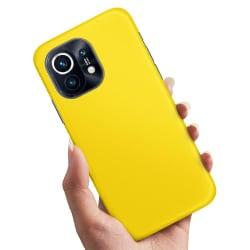 Xiaomi Mi 11 - Skal / Mobilskal Gul Gul