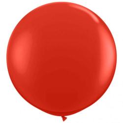 5-Pack Gigantisk Röd Ballong / Latexballong - 90 cm