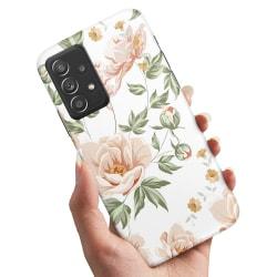 Samsung Galaxy A52 5G - Skal / Mobilskal Blommönster