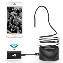 5m Inspektionskamera med Wi-Fi till Mobil & PC - USB Endoskop