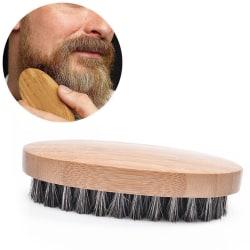 Skäggborste / Skäggkam - Borste för skägg Björk
