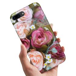 iPhone 7 Plus - Skal / Mobilskal Blommor