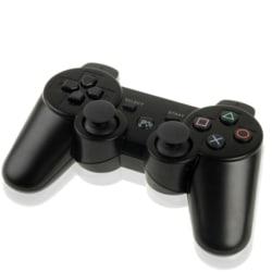 PS3 Trådlös Handkontroll - DoubleShock 3 för Sony - Svart Svart