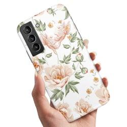 Samsung Galaxy S21 - Skal / Mobilskal Blommönster