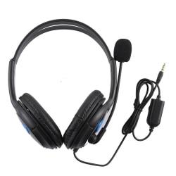 Headset för PS4 & Spel - Gaming Hörlurar med Brusreducering