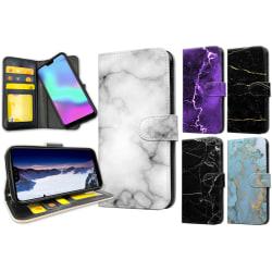Huawei Honor 10 - Marmor Plånboksfodral / Skal 17