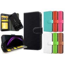 Huawei Honor 8 - Plånboksfodral / Skal med Magnet Lila