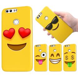 Huawei Honor 8 - Skal / Mobilskal - Emoji - 15 Olika Motiv 3