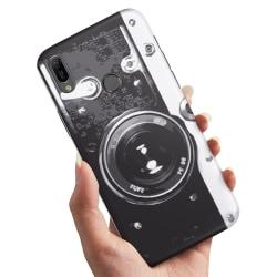Huawei P20 Lite - Skal / Mobilskal Retro Kamera